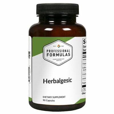 HERBALGESIC PROFESSIONAL FORMULAS SUPPLEMENTS BACK PAIN SKIN HAIR NAILS MUSCULAR