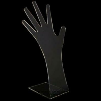 Acrylic Clear Tall Hand Necklaceglove Display Stand