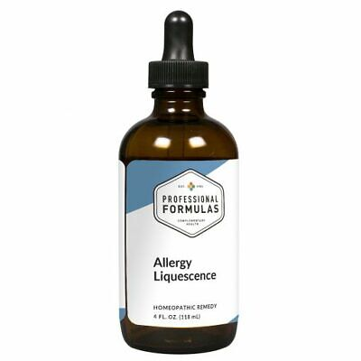 ALLERGY LIQUESCENCE PROFESSIONAL FORMULAS SUPPLEMENTS PATHOGENS TOXINS IMMUNE