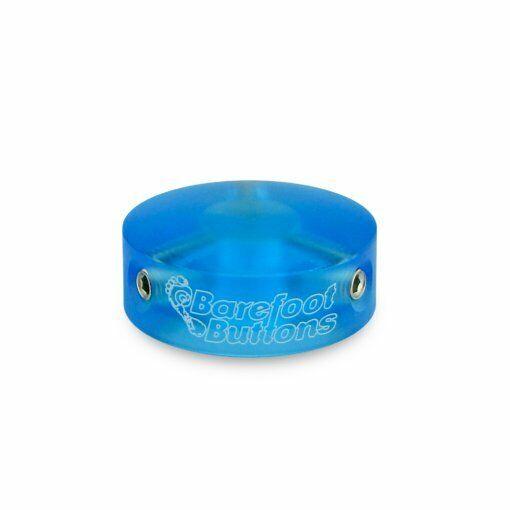 Barefoot Buttons V1 Colored Acrylic Blue 18-V1-ST-BA