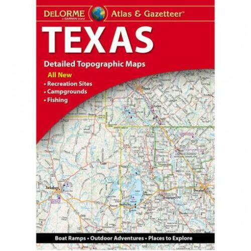 Texas State Atlas & Gazetteer, by DeLorme