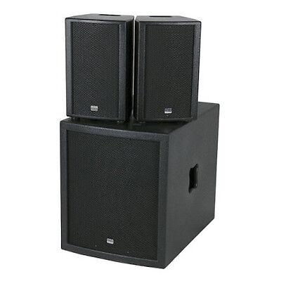 DAP Clubmate II High Power DJ Sound System Rig Disco Powered PA Dj-sound-system