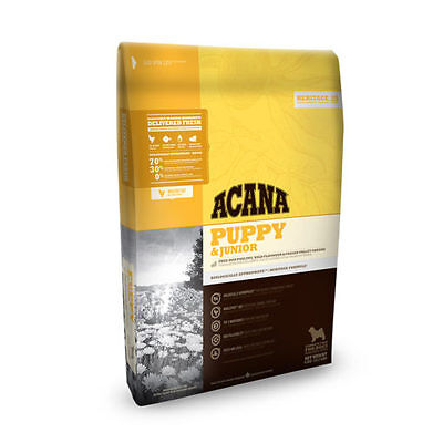11.4kg Acana Heritage Puppy and Junior Barf Dry Dog Food