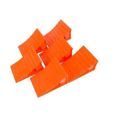 (Set of 6 Plastic Wheel Chocks for RV / Camper / Trailer / Motorhome / 5th Wheel)