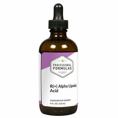 R (+) ALPHA LIPOIC ACID PROFESSIONAL FORMULAS SUPPLEMENTS DETOXIFICATION LIQUID Formulas Alpha Lipoic Acid