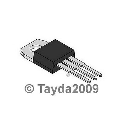 10 X Tip41c Tip41 Power Transistor Npn 100v 6a