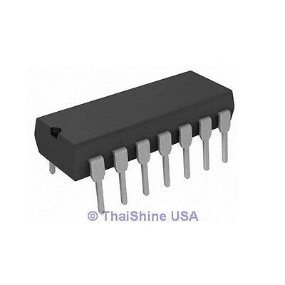 5 X Cd4069ube Cd4069 4069 Hex Inverter Ic - Usa Seller - Free Shipping