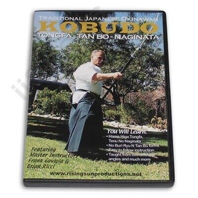 Okinawan Karate Kobudo Tongfa Tan Bo Naginata DVD tonfa Samurai martial arts NEW