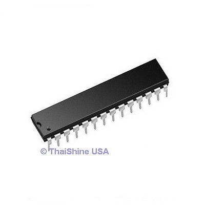 1 X Atmega328p-pu Atmega328 Microcontroller Ic - Usa Seller - Free Shipping