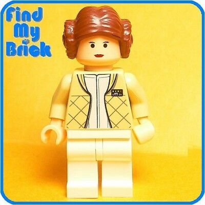 SW707 Lego Star Wars Princess Leia Minifigure with Hoth outfit 4504 NEW