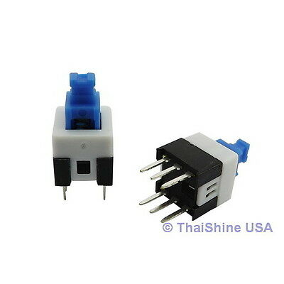 4 x PUSH BUTTON SWITCH DC 30V 0.1A DPDT