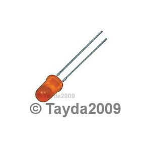 30-x-LED-3mm-Orange-FREE-SHIPPING