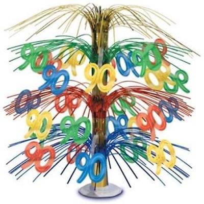 90th Birthday Cascade Centerpiece Party Decoration