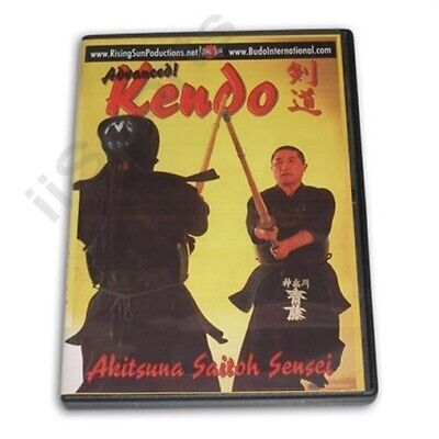 Advanced Kendo training DVD Akitsuna Saitoh RS0452 samurai sword fighting iai