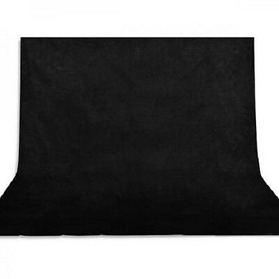 6.8X5.2Ft (2.1X1.6M) Economy Black Backdrop Photo Studio Photography Background
