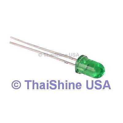 50 X Led 3mm Green - Usa Seller - Free Shipping