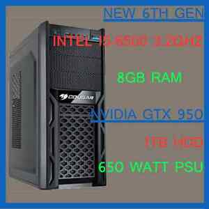 Custom Gaming PC - i5-6500, GTX 950, 8GB Ram Brinsmead Cairns City Preview