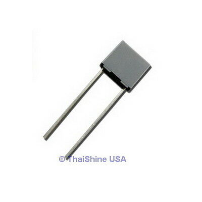 10 X 2.2nf 0.0022uf 100v 5 Polyester Film Box Type Capacitor - Usa Seller