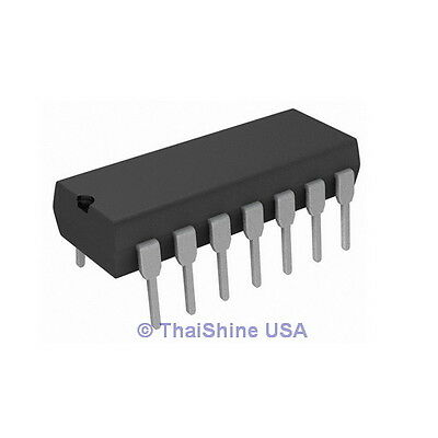 5 X 74hc00 7400 Quad 2-input Nand Gate Ic - Usa Seller - Free Shipping