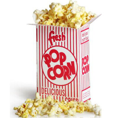 Great Western 11069 Close Top 2oz Popcorn Box 3.5e 500cs