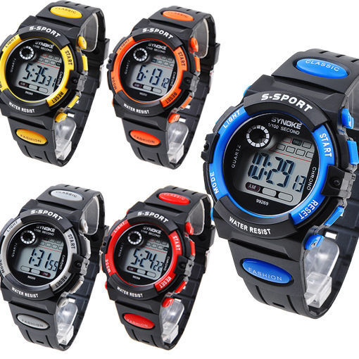 New Multifunction Waterproof Adult/Boy's/Girl's Sports Electronic Watch Watches Jewelry & Watches