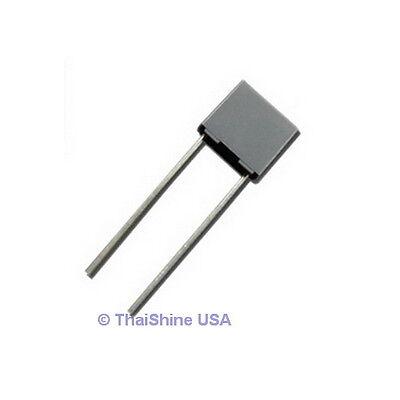 10 X 3.9nf 0.0039uf 100v 5 Polyester Film Box Type Capacitor - Usa Seller