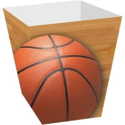 Basketball Birthday Decorations (Basketball Treat Boxes 4 Pack Birthday Party)