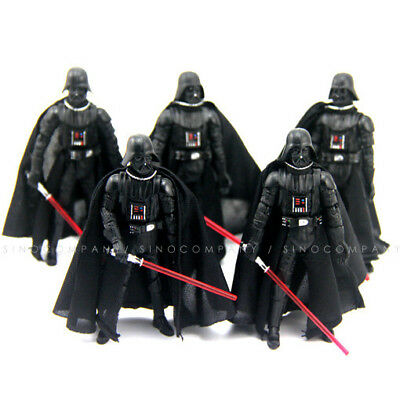 5pcs Star Wars 2005 Darth Vader Revenge Action Figure Kid Xmas Gift New Toys