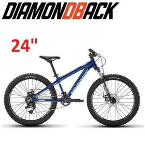 NEW DIAMONDBACK YOUTH MOUNTAIN BIKE 1172476 251624739 BICYCLE 24 1/ONE SIZE HARDTAIL DOWNHILL