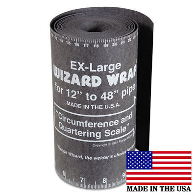 Flange Wizard Ww-19 X-large Wrap 180 Long X 7 Wide Pipe 12 To 48 Diameter