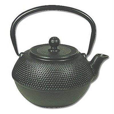 Japanese Tetsubin Cast Iron Teapot 38oz Black F15446 S-2559