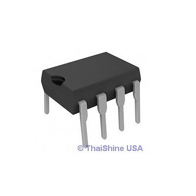 5 X Lm311 Lm311p Voltage Comparators Dip 8 Ic - Usa Seller - Free Shipping