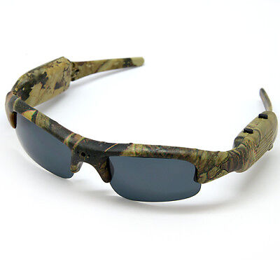 Sunglasses with Video Action Camera HD 1280x720 / Memory micro SD Card (Sunglasses With Camcorder)
