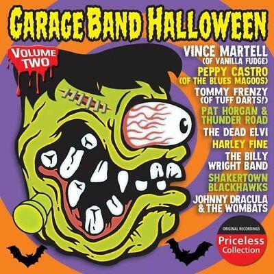Garage Band Halloween, Volume 2 NEW CD - Halloween Band Music
