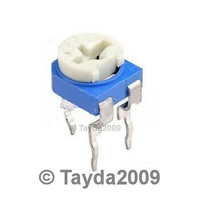 10 X 100k Ohm Trimpot Trimmer Pot Variable Resistor 6mm