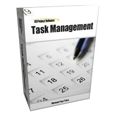 TASK TIME PROJECT MANAGEMENT DIARY JOURNAL SOFTWARE MAC