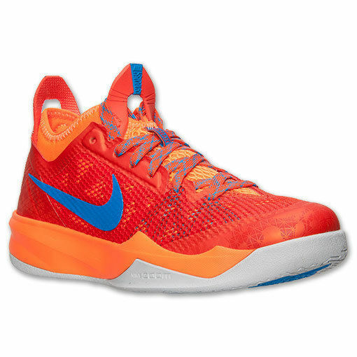 Nike Basketball Shoes Low Cut Red