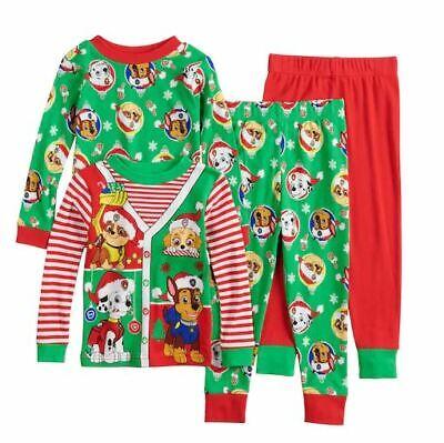 Girls Holiday Pajamas (Toddler boys girls Paw Patrol Christmas Holiday pajamas Pajama set 2T CHOOSE)