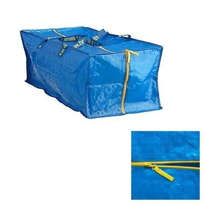 FRAKTA Ikea Trage Tasche mit Reißverschluss für Karre 76l auch Umzug Pfand NEU
