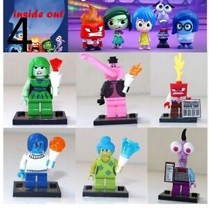 Lego Compatible Disney Inside Out Minifigures $15 for set of 6