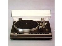 Wanted SONY HI-FI Reel To Reel Tape Deck Tc-377 TO Tc-880, Elcaset, Cassette decks, Turntables, Amps