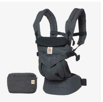 NEW Ergo 360 All Positions Baby Carrier - Charcoal