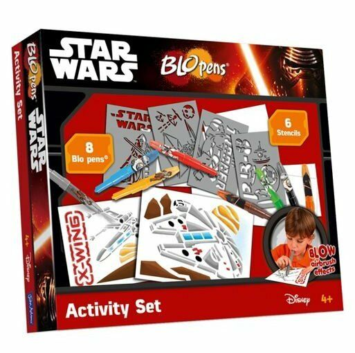 John Adams STAR WARS BLO PENS ACTIVITY SET - 8 BloPens Airbrush Effect