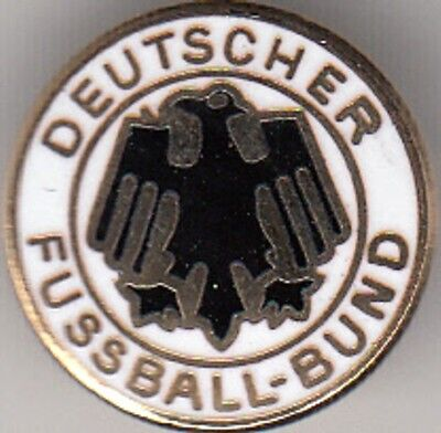 "Germany ""DFB"" - round lapel badge brooch fitting"