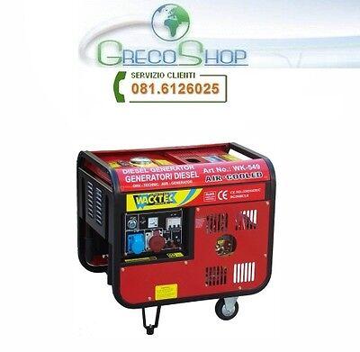 Generatore di corrente diesel 4200W - 220/380V avviamento elettrico usato  Napoli