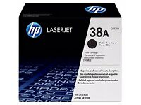 HP 38A Black LaserJet Toner Cartridge Compatible