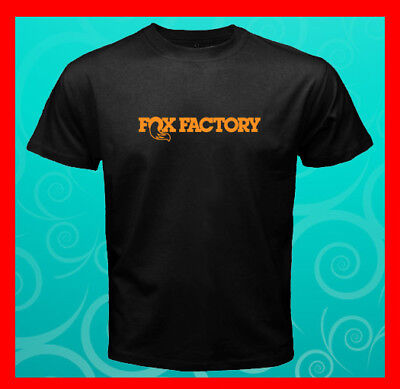 Fox Factory Logo RIDEFOX ATV Bike Suspension Race Men's T-Shirt S M L XL 2XL 3XL