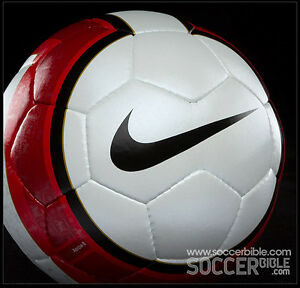 NIKE AEROW II PREMIER LEAGUE MATCH BALL SIZE 5 FIFA APPROVED EPL GEO MERLIN RED