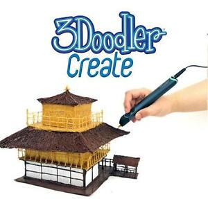 NEW 3DOODLER CREATE PEN SET CRAFTS ART 3D PRINTING WITH 50 STRANDS 102974270