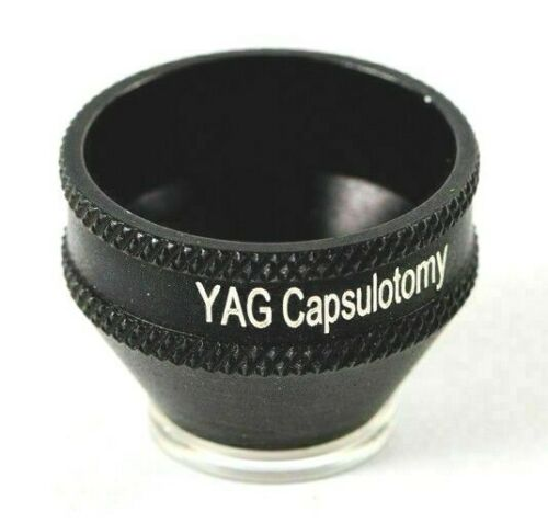 YAG Capsulotomy Lens With Wooden Box Ophthalmology and Optometry